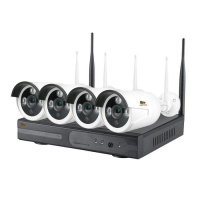 Комплект Partizan Outdoor Wireless Kit 2MP 4xIP v1.1