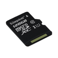 Карта памяти Kingston microSDXC 128GB Canvas Select Class 10 UHS-I U1 (SDCS/128GBSP)